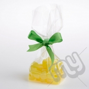 Clear Block Bottom Cellophane Bags - 160x250mm x 100pcs