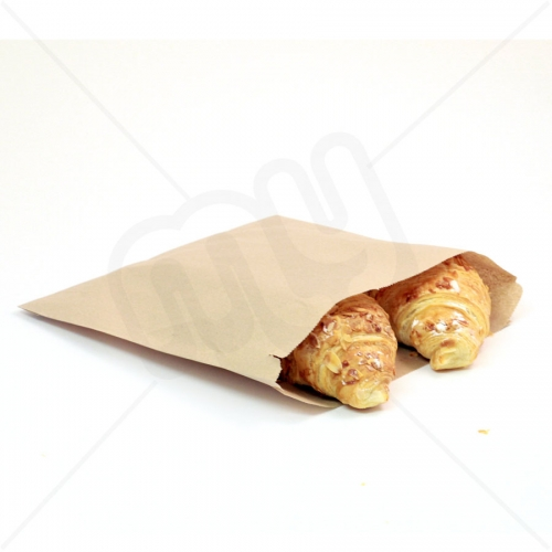 8 x 8 Brown Kraft Paper Bags x 1000pcs