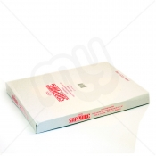 White HDPE Butcher Counter Bags with Lip - 8 x 10