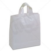 White Flexi-Loop SOS Carrier Bags - LARGE x 250pcs