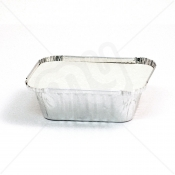 Aluminium Foil Container With Lid - Small x 1000pcs