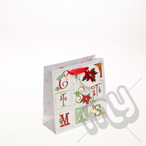 Advent Calendar Christmas Gift Bag - Small x 1pc