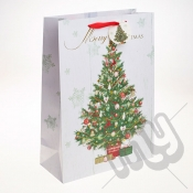 Decorated Christmas Tree Christmas Gift Bag - Extra Large x 1pc