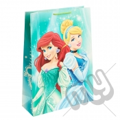 Ariel & Cinderella Gift Bag - Extra Large x 1pc