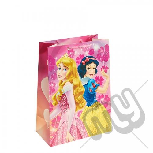 Sleeping Beauty & Snow White Gift Bag - Large x 1pc