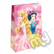 Sleeping Beauty & Snow White Gift Bag - Extra Large x 1pc