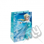 Queen Elsa & Ice Portrait Gift Bag - Large x 1pc