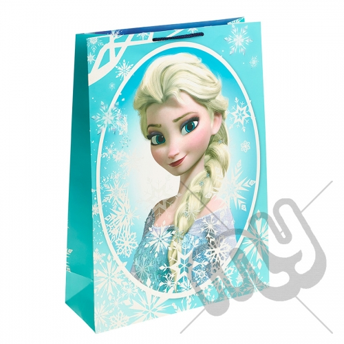 Queen Elsa Portrait Gift Bag - Extra Large x 1pc