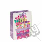 ' With Love ' Gift Bag with Glitter Detail - Large x 1pc