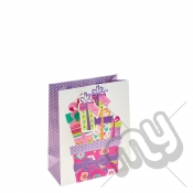 ' With Love ' Gift Bag with Glitter Detail - Medium x 1pc