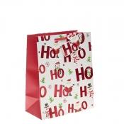 Ho Ho Ho Merry Christmas Gift Bag – Large x 1pc
