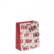 Ho Ho Ho Merry Christmas Gift Bag – Medium x 1pc