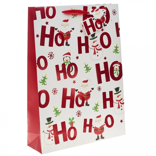 Ho Ho Ho Merry Christmas Gift Bag – Extra Large x 1pc