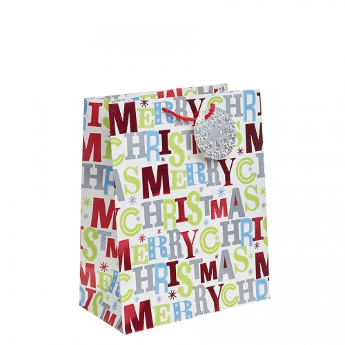 Merry Christmas Gift Bag – Large x 1pc