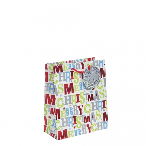 Merry Christmas Gift Bag – Medium x 1pc
