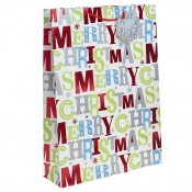 Merry Christmas Gift Bag – Extra Large x 1pc