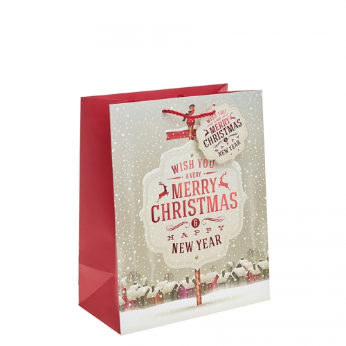 We Wish You a Merry Christmas Gift Bag – Large x 1pc