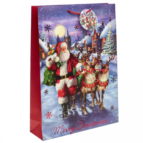The Night before Christmas Gift Bag – Extra Large x 1pc