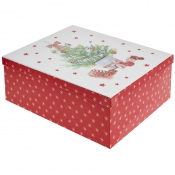 Decorated Christmas Tree Merry Christmas Gift Box – Large
