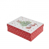 Decorated Christmas Tree Merry Christmas Gift Box – Small