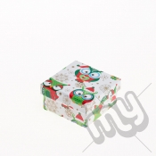 Owl and Snowflake Christmas Gift Box - XSmall