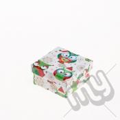 Owl and Snowflake Christmas Gift Box - XSmall