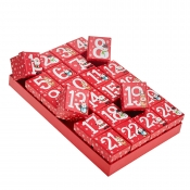 Advent Calendar Christmas Gift Boxes - Set of 24