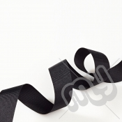 Black Grosgrain Ribbon 10mm x 20 metres