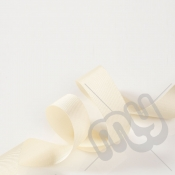 Ivory Grosgrain Ribbon 15mm x 20 metres
