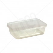 C500 Microwave Container with Lids x 250pcs
