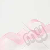 Pink Organza Ribbon 10mm x 25 metres