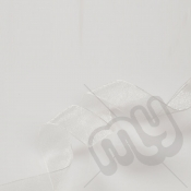 Ivory Organza Ribbon 15mm x 25 metres