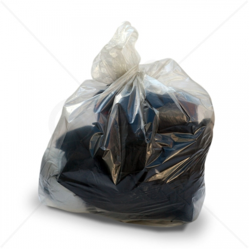 Premium Clear Refuse Sacks - Heavy Duty x 200pcs