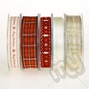 Christmas Ribbon, Elegant Gold - 20metres