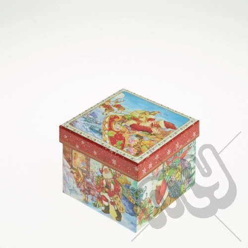 Santa and his Sleigh Christmas Eve Gift Box - Small