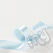 Sky Blue Double Satin Ribbon 10mm x 20 metres