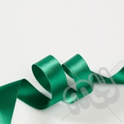 Green Double Satin Ribbon 15mm x 20 metres