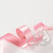 Light Pink Double Satin Ribbon 10mm x 20 metres