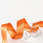 Orange Double Satin Ribbon 10mm x 20 metres