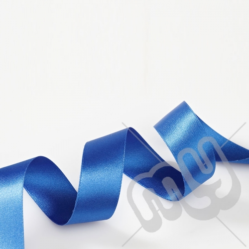 Royal Blue Double Satin Ribbon 25mm x 20 metres