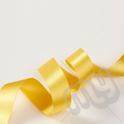 Gold Double Satin Ribbon 10mm x 20 metres