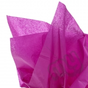 Fuschia Pink Tissue Paper - 6 Sheets