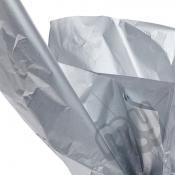 Silver Tissue Paper - 4 Sheets