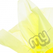 Bright Yellow Tissue Paper - 6 Sheets