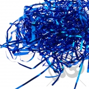 Royal Blue Foil Shredded Tissue Paper - 25 Grams