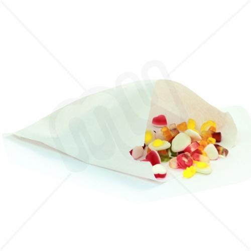 7 x 9 White Sulphite Paper Bags x 1000pcs