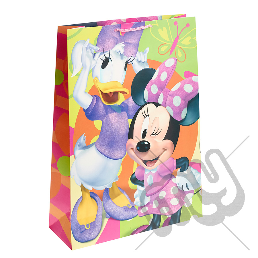minnie mouse daisy duck gift bag extra large x 1pc my carrier