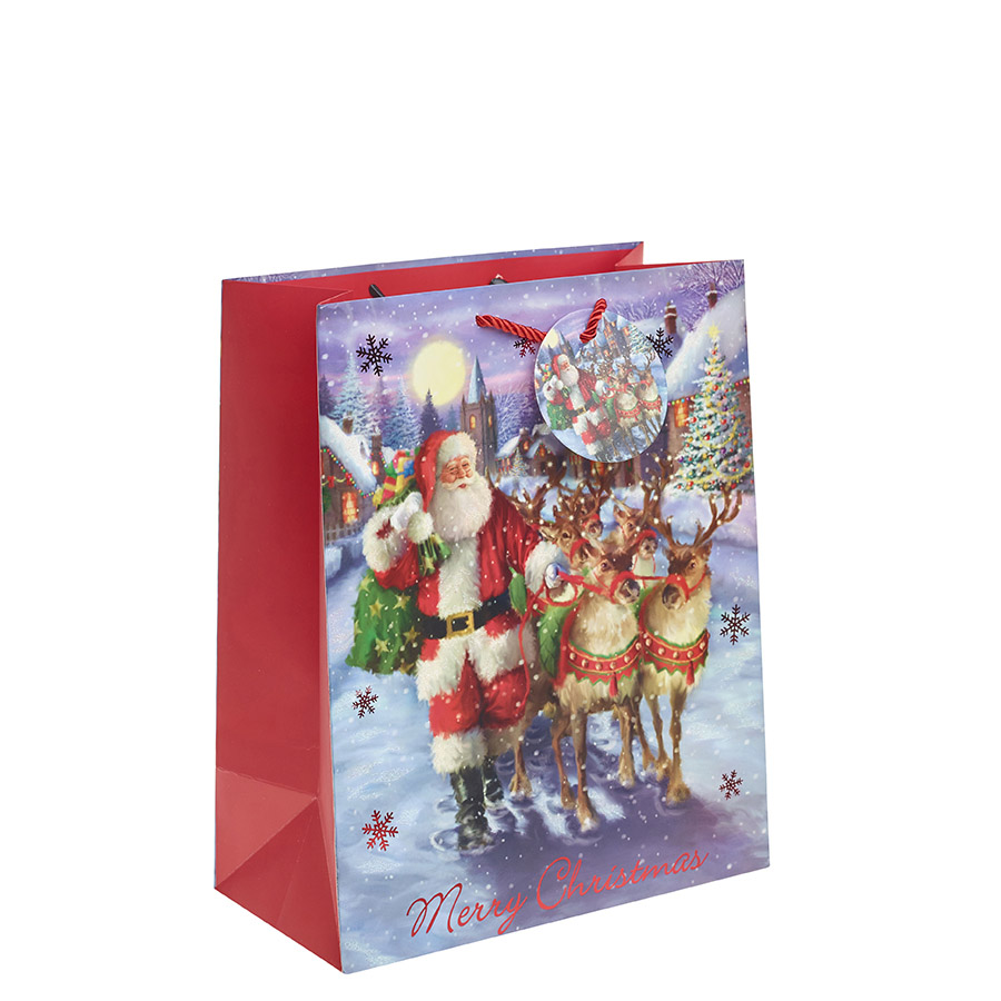 The Night before Christmas Gift Bag – Large x 1pc www.mycarrierbag ...