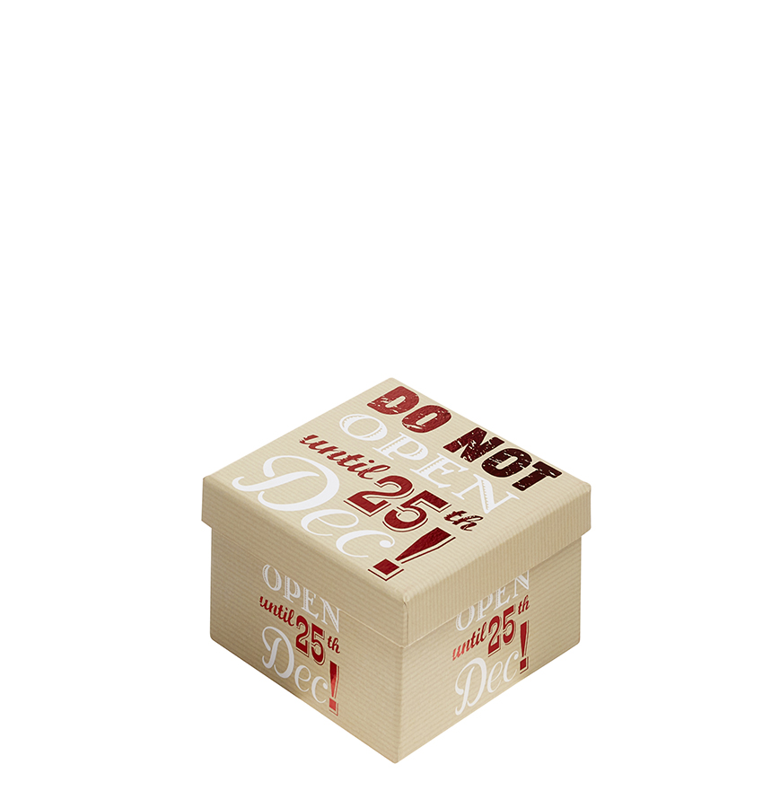A box with do not open